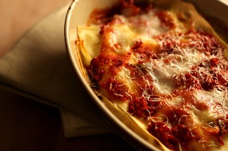 Three Cheese Lasagna for One | by Lara Ferroni
