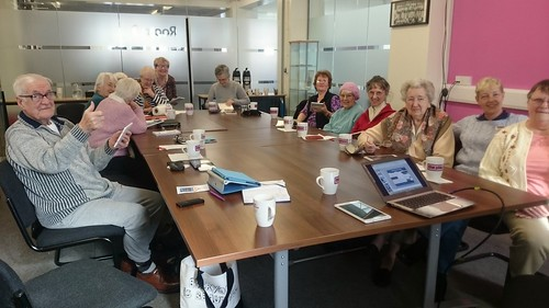 Feb 2016 - Tea and Tablets Training with DigiEnable - Liz Hardwick