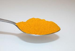19 - Zutat Kurkuma / Ingredient curcuma