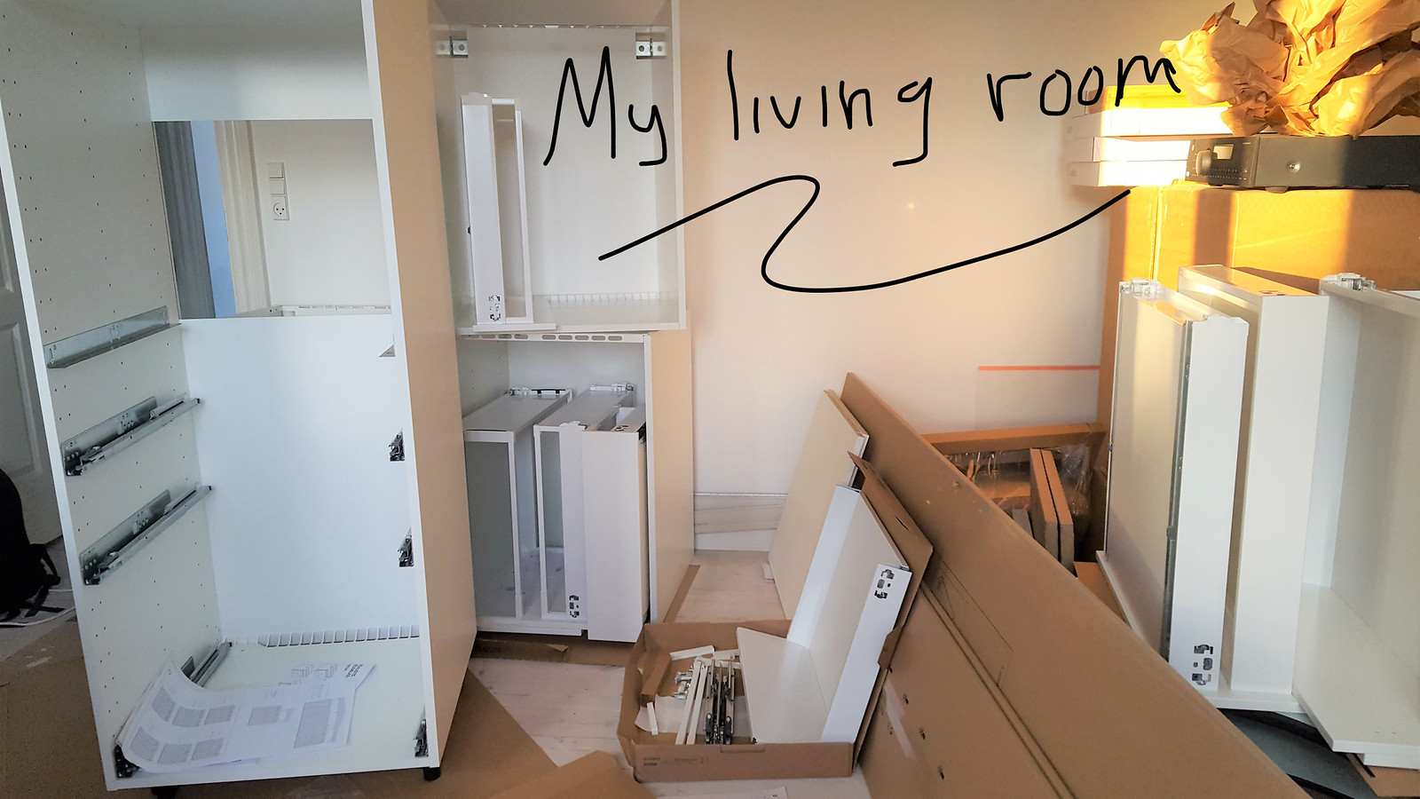 How-to-guide Installation of IKEA kitchen