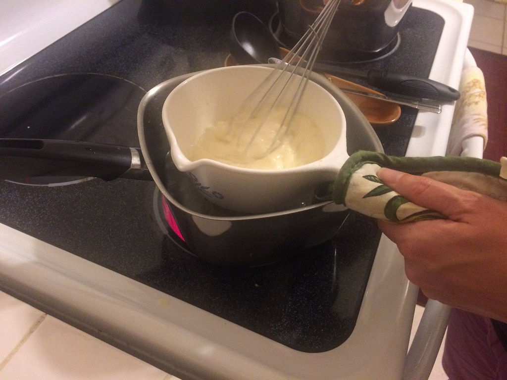 Making Cheese Fondue 2