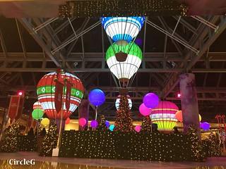 CIRCLEG 香港 太古 鰂魚涌 太古城 TAIKOO Cityplaza 熱氣球 2016聖誕 遊記 聖誕 2016  (3)