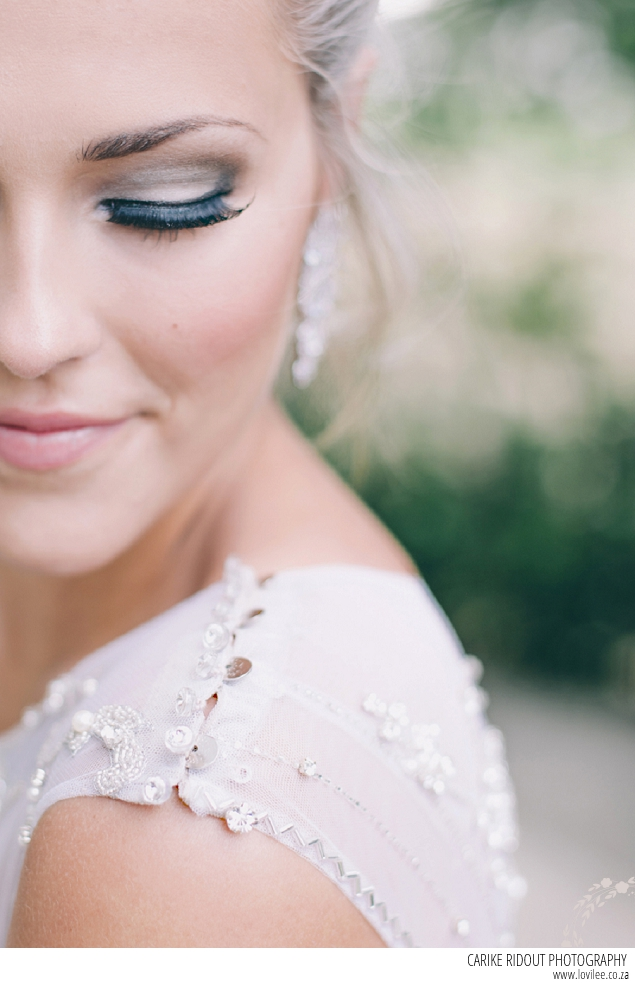 Bridal make-up by Kirsled Lash