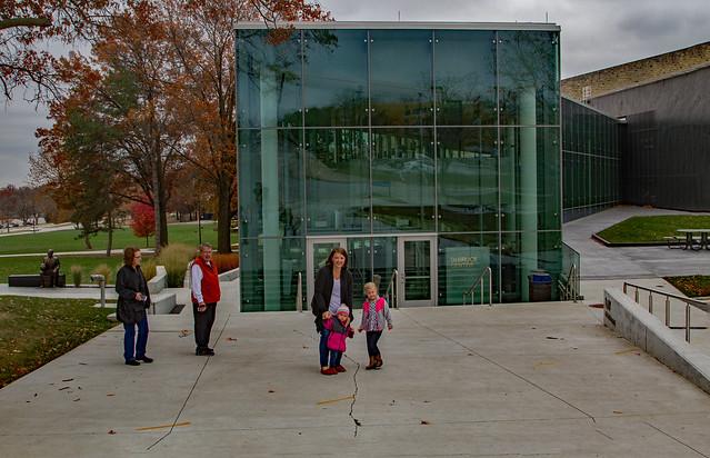 Outside the Debruce Center