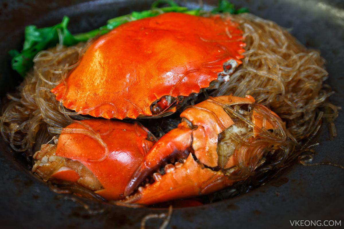 Claypot Crab Noodles Pupen Seafood