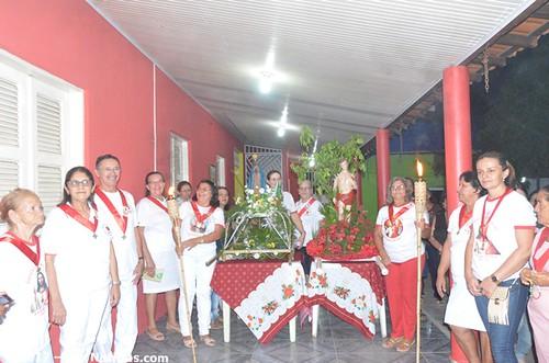 Trezenas de São Sebastião, Festa do padroeiro de Ipu é iniciada com procissão