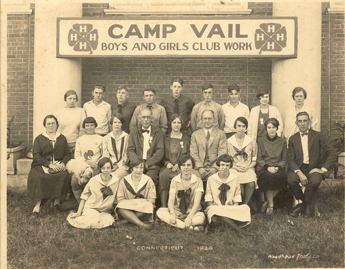 The Big E's Camp Vail Boys and Girls Club Work , 1926