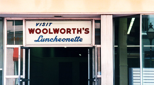 woolworths luncheonette | by gilesbooth