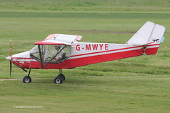 G-MWYE - 1992 build Rans S6-ESD Coyote II, recently back in the air again after a 18 month re-build