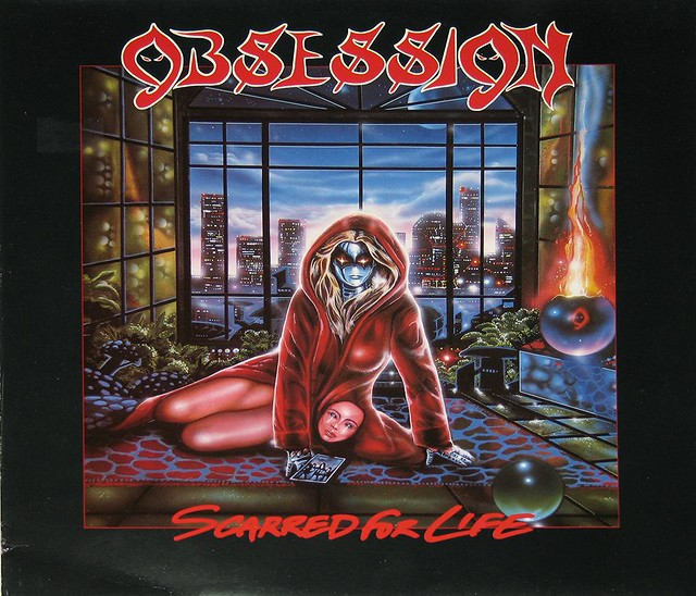"OBSESSION SCARRED FOR LIFE 12"" vinyl LP"