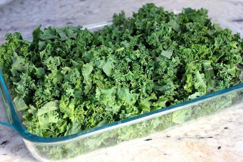 Miss Madeleine's Kale Gratin