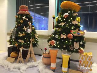 CIRCLEG 香港 尖沙咀 美麗華商場 TSIMSHATSUI  MIRA MALL 2016聖誕 遊記 聖誕 2016  (2)
