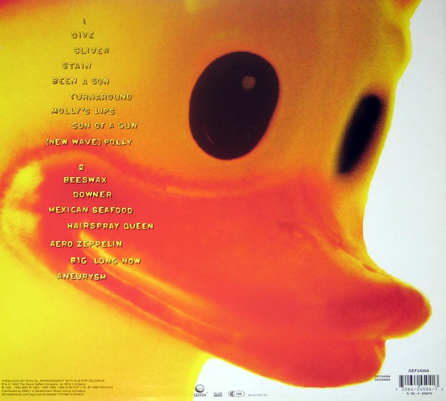 "NIRVANA Incesticide 12"" vinyl LP"
