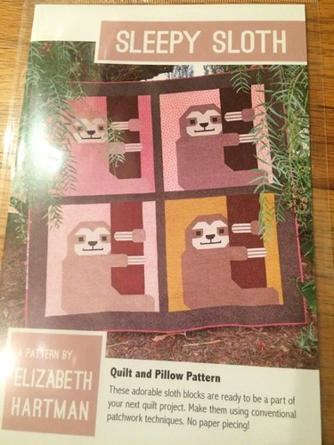 Sloth quilt