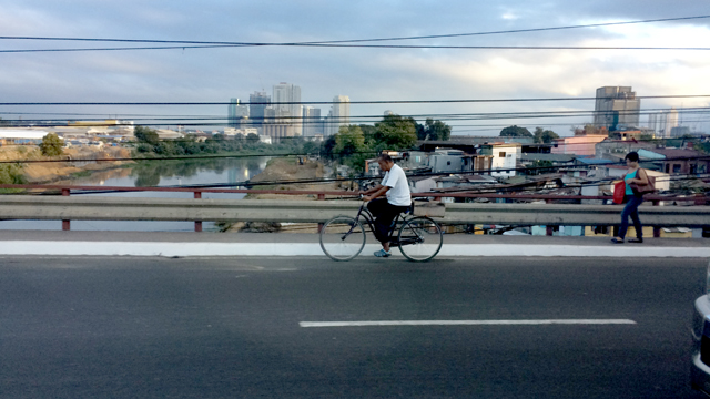 Philippines bicyclist
