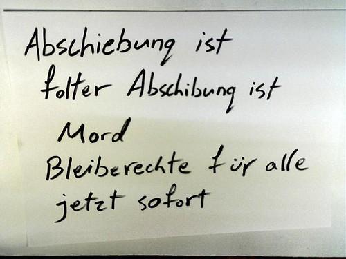 "Break Deportation Aktion in Erfurt – ""Roma-Black Box Solidarity"""