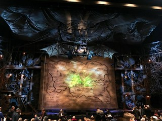 Before the start of Wicked in NYC