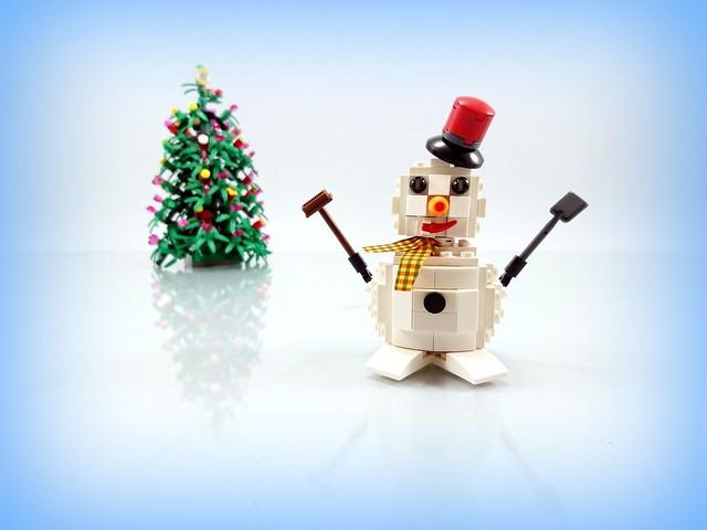 Season's  Greetings  - Snowman
