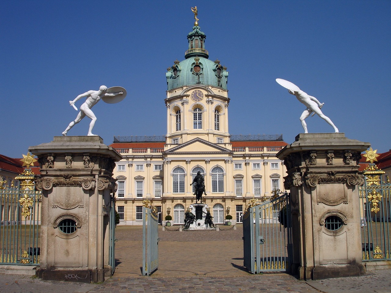 Chateau de Charlottenburg à Berlin - Photo d'Ingrid K.