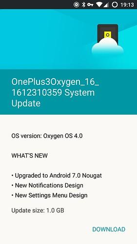 OxygenOS 4.0