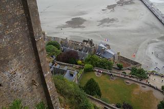 028 Uitzicht vanaf Mont Saint-Michel