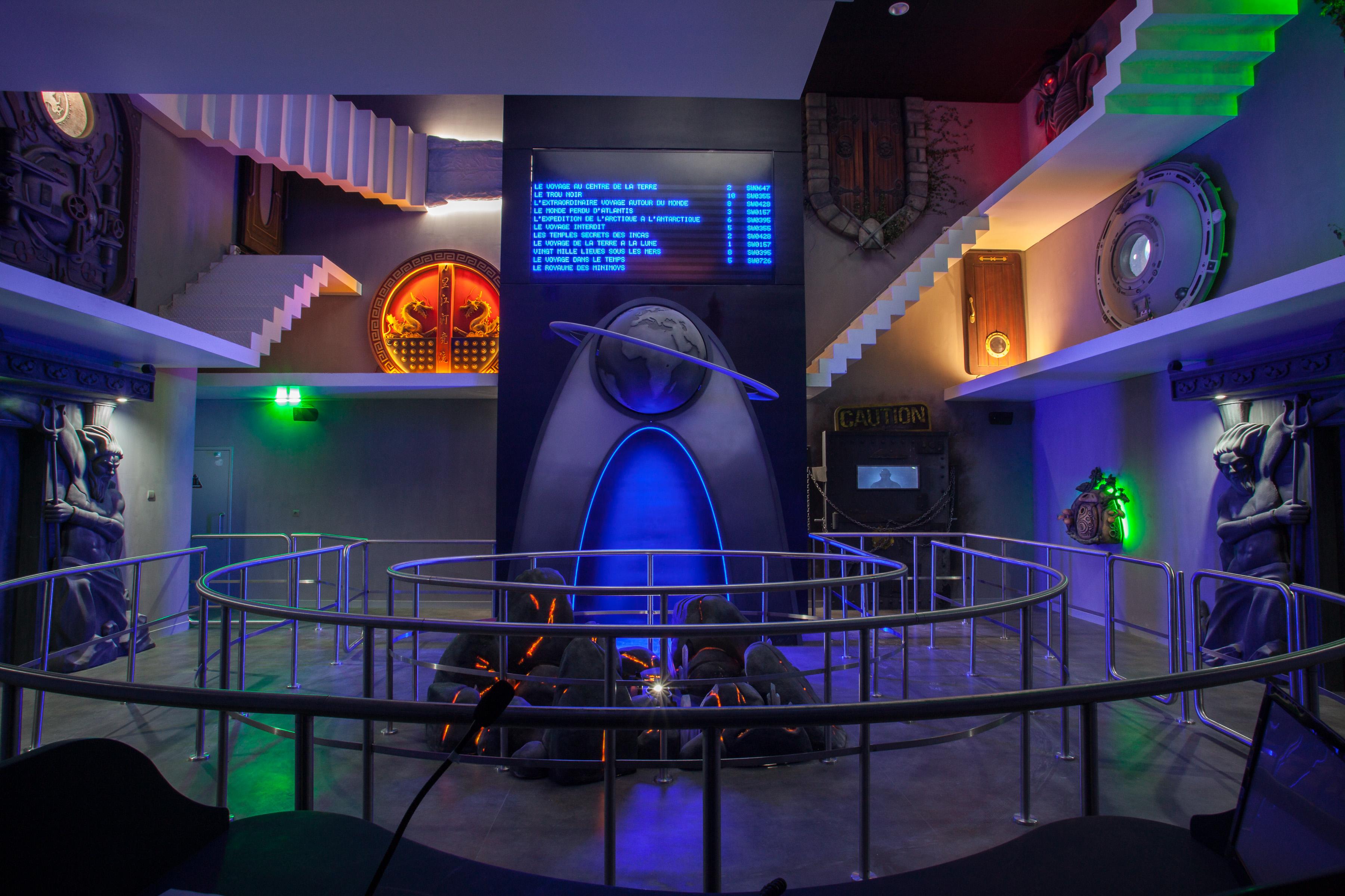 Futuroscope l 39 extraordinaire voyage 17 d cembre 2016 for Cid special bureau episode 13