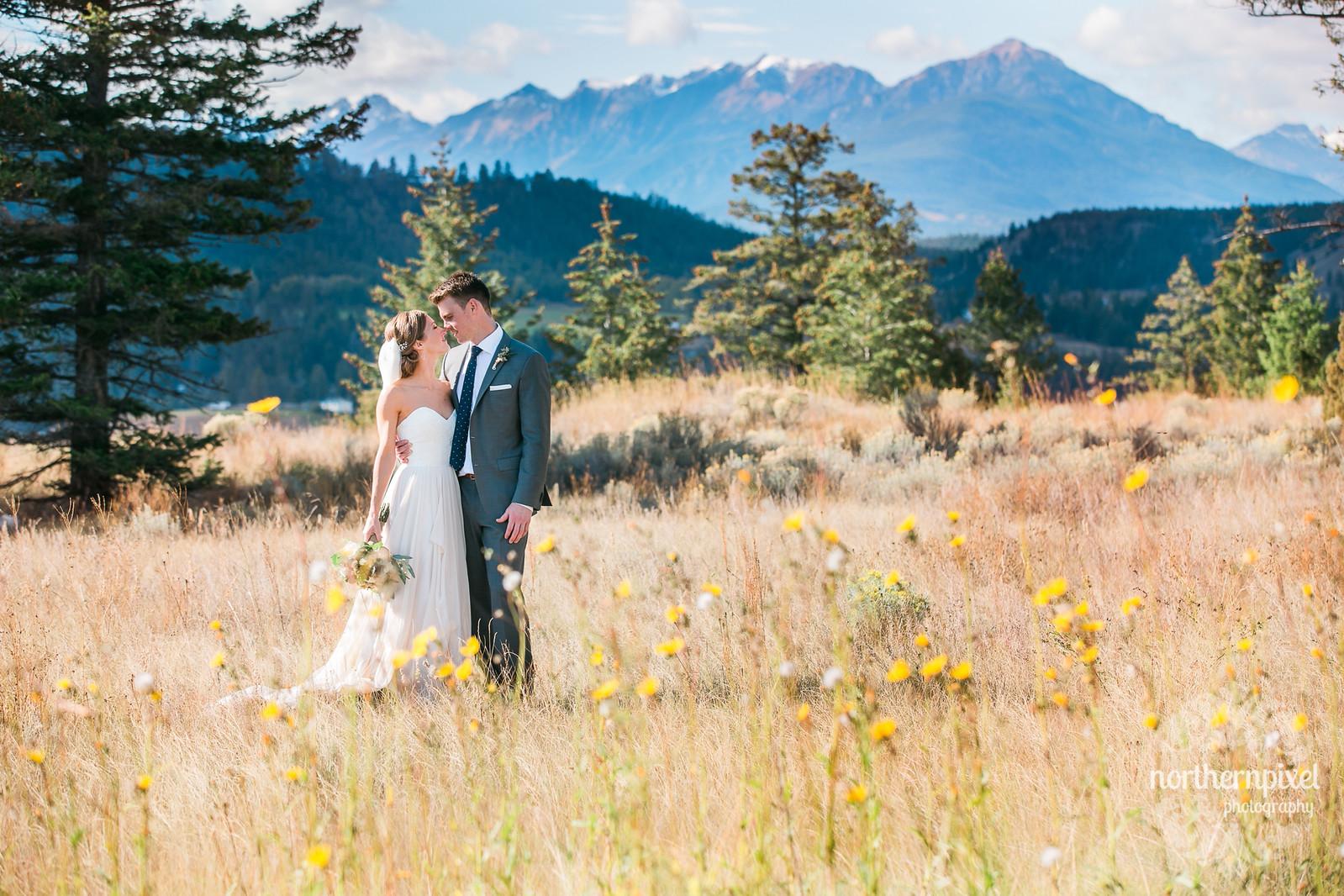 Invermere British Columbia Wedding