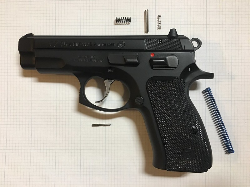 The Best Upgrade For Your CZ 75, Cost $50 + 2hrs - Calguns net
