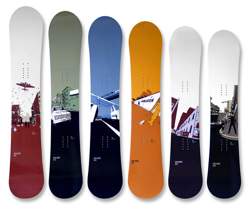 Rome Snowboard Graphics | by tubes.