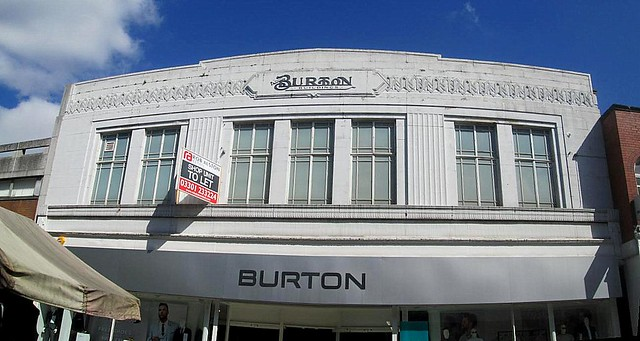 Burton's, Chesterfield.