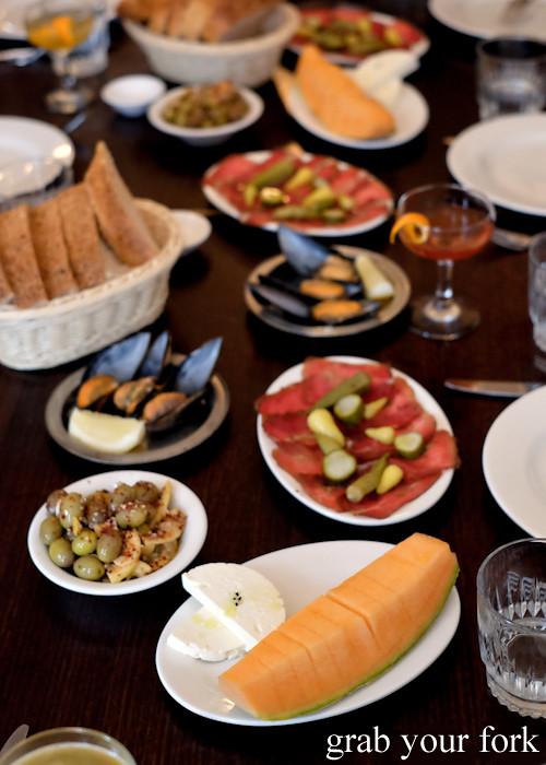 Turkish snacks at Stanbuli in Enmore