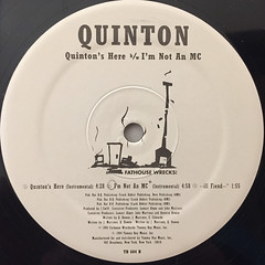 QUINTON:QUINTON'S HERE(LABEL SIDE-B)