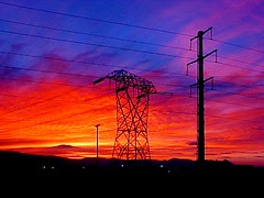 Power Lines along Highway 99 ~ EXPLORED | by Pixel Packing Mama