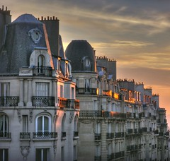 sunset over Paris rooftops - III | by kmsf