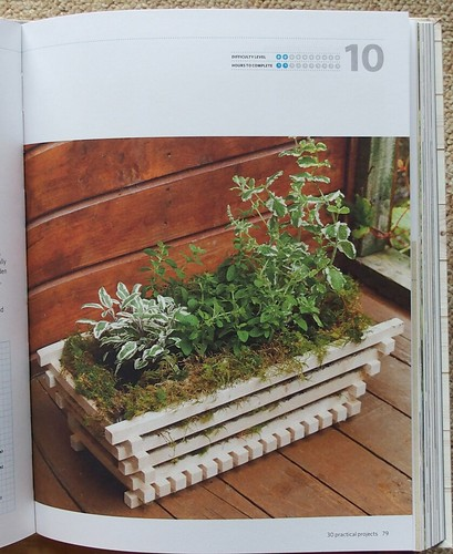 Basket Planter from Build a Better Vegetable Garden