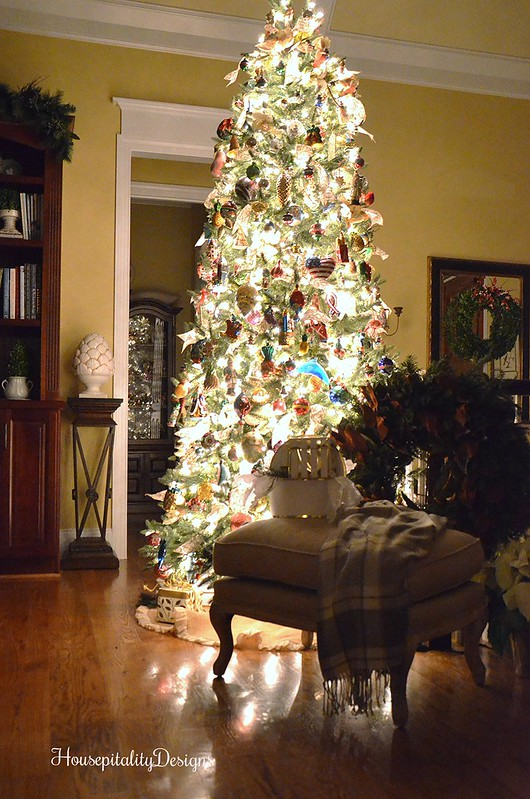 Christmas Tree at Night-Housepitality Designs