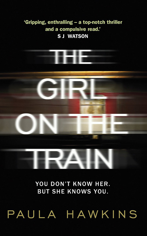 The Girl on the Train - Book Cover