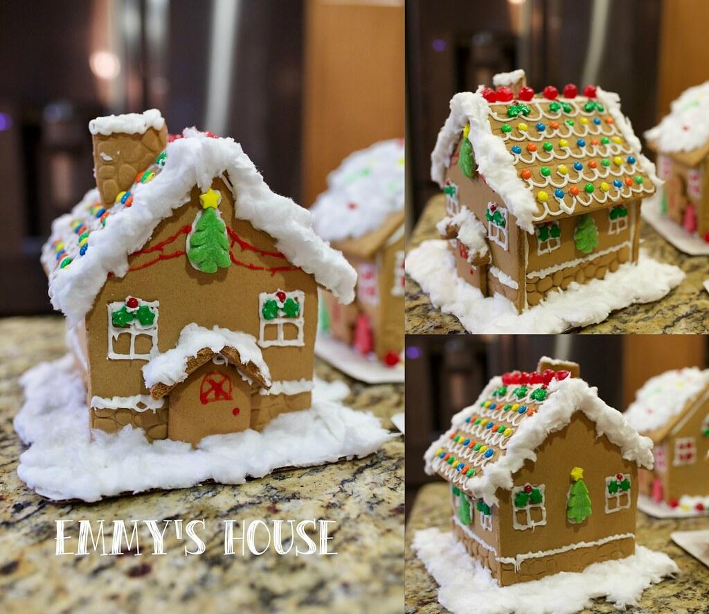 Gingerbread house- EM