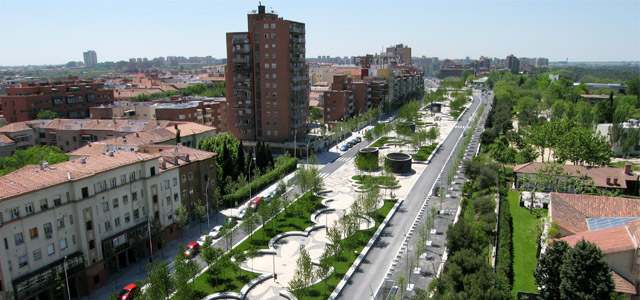 Madri transforma o ambiente urbano
