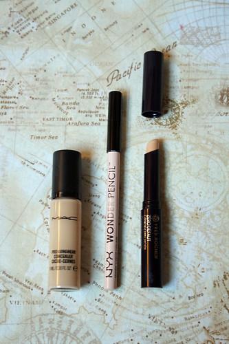 2016 make-up inventory: concealer