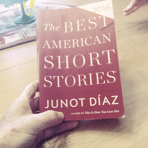 Book Cover - Best Short Stories of 2016