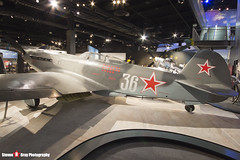 36 White - Russian Air Force - Yakovlev Yak-9U - The Museum Of Flight - Seattle, Washington - 131021 - Steven Gray - IMG_3717
