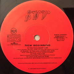 SWV:NEW BEGINNING(LABEL SIDE-B)