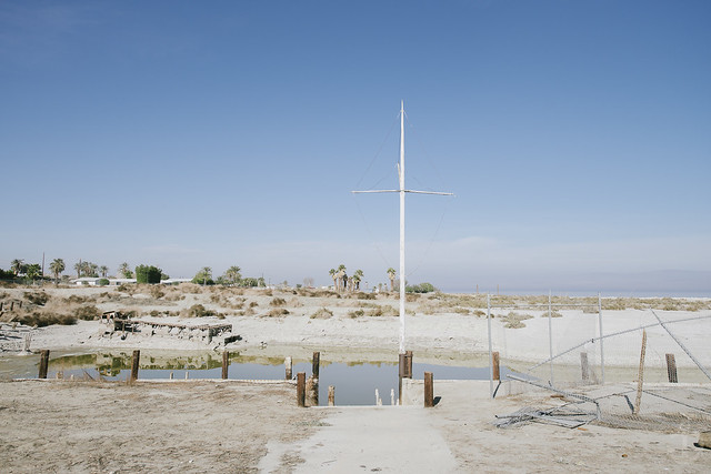 Desert Shore at the Salton Sea