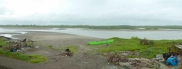 Bagasbas Beach estuary