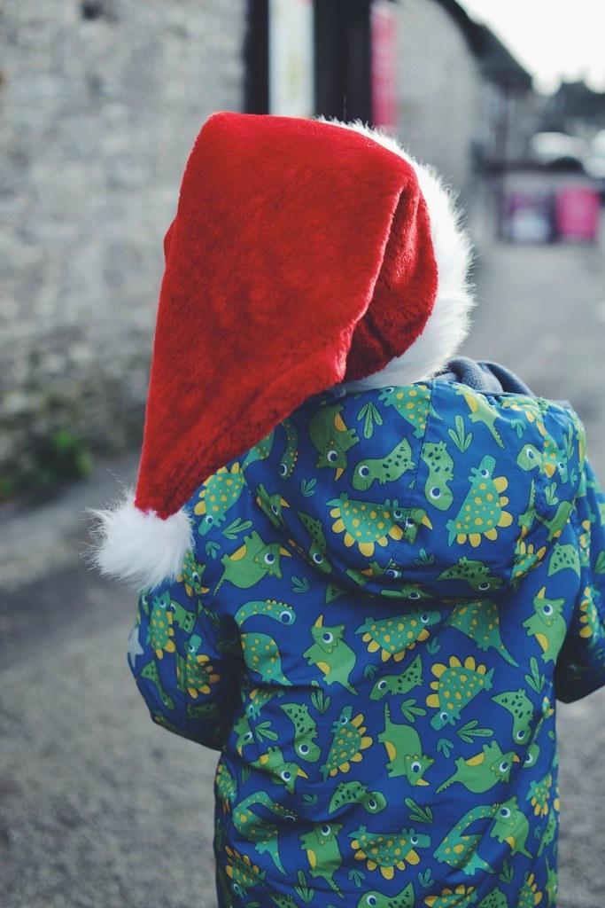 Santa at Corfe Castle