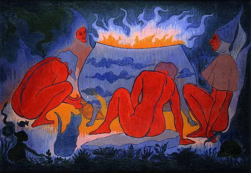 Paul Ranson - Witches around the Fire, 1891