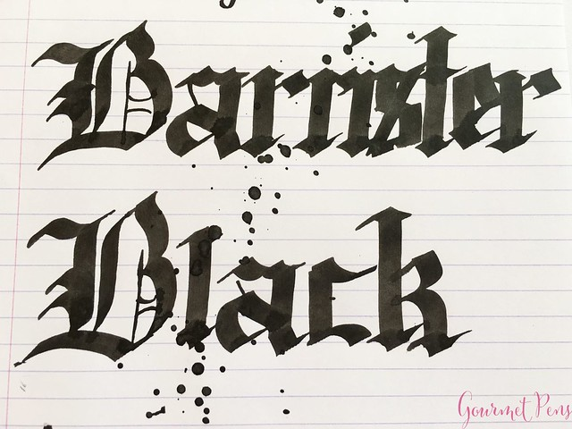 Ink Shot Review Blackstone Barrister Black @AppelboomLaren 7