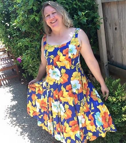 op shop dress