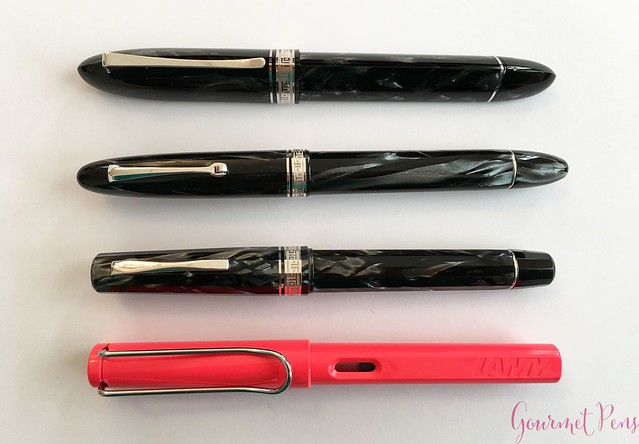 Review 90th Anniversary Omas Icons Celluloid Collection Set @PapierundStift 18